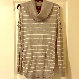 NWT Cowl Beck Sweater with Open Shoulder Design